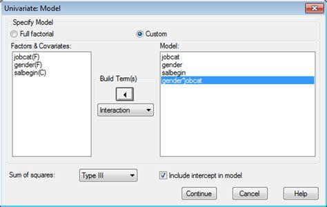 tutorial spss ancova analysis of covariance ancova belajar spss