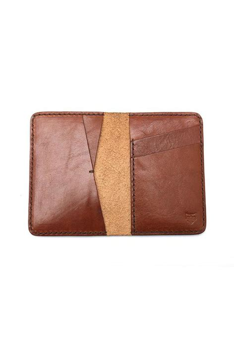 Handmade Leather Items - foxtail goods handmade leather wallet from california by