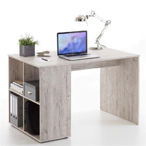 Felix Corner Desk Caroline Wooden Computer Desk In Sand Oak With 4 Compartments Mysmallspace