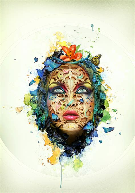 creating abstract create a beautiful abstract portrait in photoshop