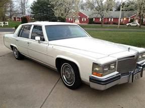 Cadillac Fleetwood 1988 Cadillac Fleetwood For Sale 1921729 Hemmings Motor