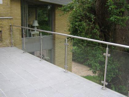 geländer terrasse glas bel 230 gning terrasse