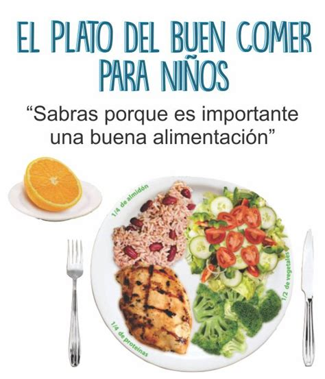 el plato del buen comer come saludable sin sacrificios el plato del buen comer para ni 241 os descargalo e imprimelo