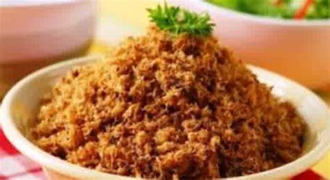 Abon Ayam Dan Abon Tongkol resep abon ikan tongkol enak gurih resep hari ini