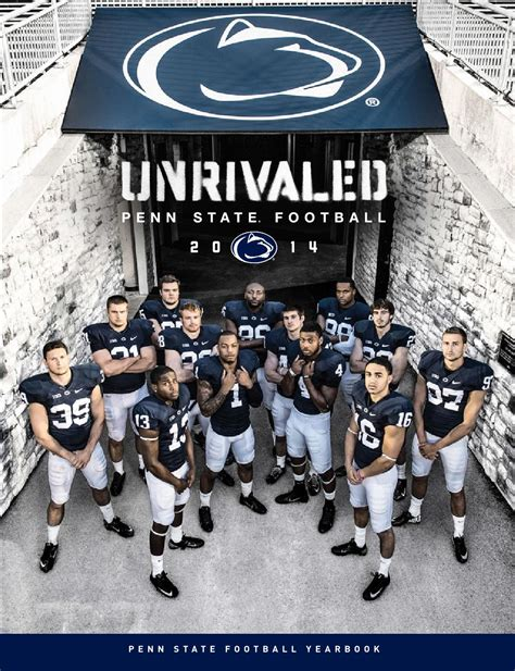 Florida Style Home Plans by 2014 Penn State Football Yearbook By Penn State Athletics
