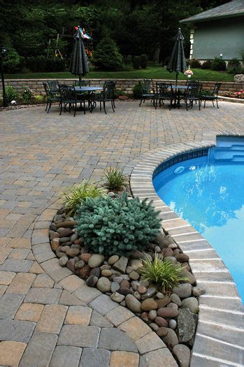 pool paver ideas cst paver patio swimming pool deck like the stones