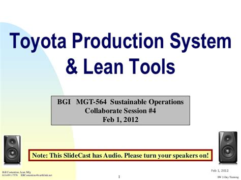 Toyota Production System Pdf Toyota Production System And Lean Tools