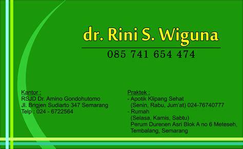 desain kartu nama dokter hewan contoh kartu nama primaprinting