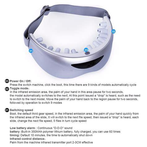 Alat Pijat Elektrik Semarang alat pijat mata elektrik rechargeable white