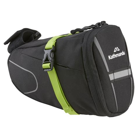 Bicycle Bag bike saddle bag deluxe black