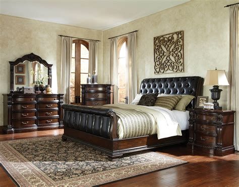 slay bedroom set churchill sleigh bedroom set bedroom furniture sets
