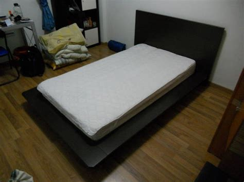 Single Bed Frames For Sale Low Single Bed Frame With Mattress For Sale In Singapore Adpost Classifieds
