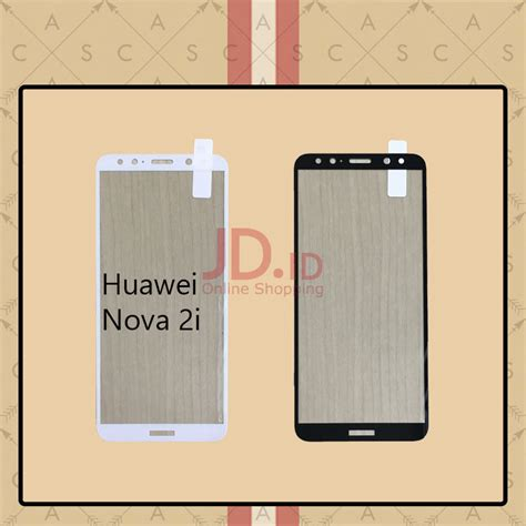 jual casa tempered glass warna color for huawei 2i