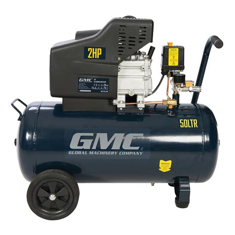thompsons ltd gmc 270120 garage workshop 2hp air compressor 50 litre