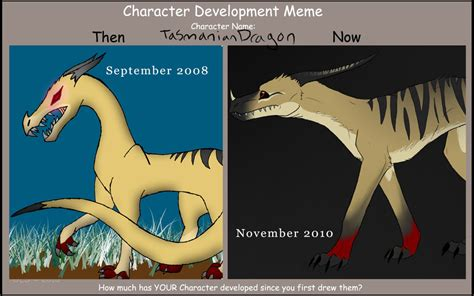 Tasmania Memes - tasmanian dragon develop meme by katxicon on deviantart
