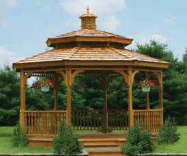 Yard Gazebo by Gazebos Amp Gazebo Kits For Your Backyard