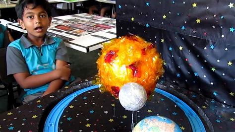 Mukena Sekar Maroon sun moon earth model project page 3 pics about space