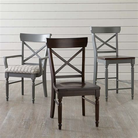 Bassett Furniture Dining Chairs Bassett X Back Dining Side Chair Dining Chairs