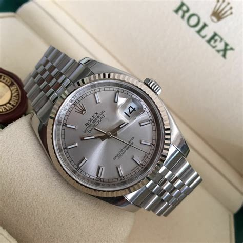 Rolex Datejust Automatic Kulit Leather T0210 jual beli tukar tambah service jam tangan mewah arloji original buy sell trade in service