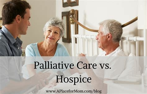 hospice vs comfort care palliative care vs hospice