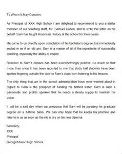 Graduate School Recommendation Letter Template letters of recommendation for graduate school 15