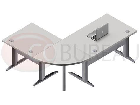 bureau angle droit ensemble bureau cadre 120 cm pro m 233 tal avec angle de