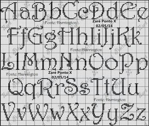 html pattern alphanumeric free cross stitch letter patterns sle letter template