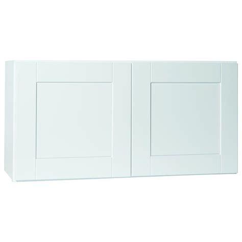 hton bay cabinets white shaker hton bay shaker assembled 36x18x12 in wall bridge