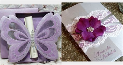 quince invitations  shades  purple quinceanera