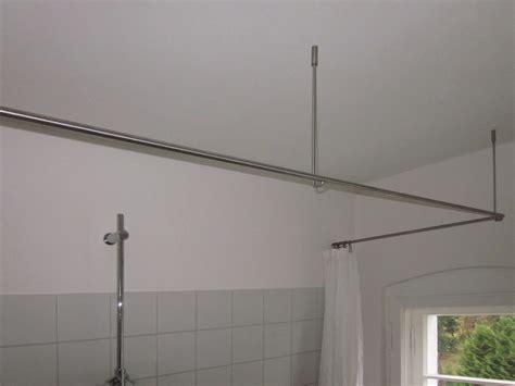 Duschvorhangstange Badewanne L Form by Inspiration Duschvorhangstange Phos Edelstahl Design