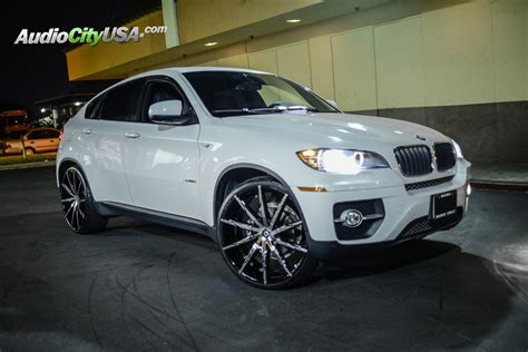 x6 bmw wheels bmw x6 custom wheels lexani css 15 24x10 0 et tire size