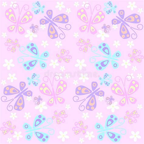 butterfly pattern stock butterfly pattern seamless stock vector illustration of
