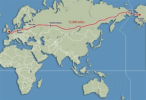 boat to america from uk plans proposed for very ambitious 12 400 mile road across