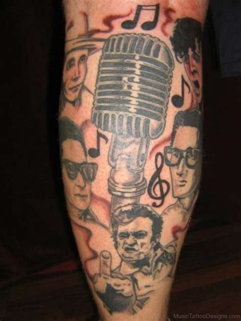 rock and roll tattoo 54 attractive tattoos for shoulder