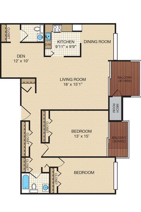 bedroom apartment floor plans portabello apartments