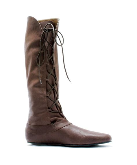 brown renaissance boots costumes