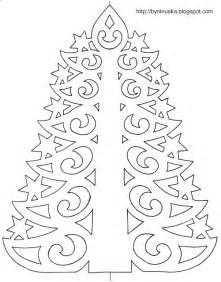 diy paper christmas tree with printable template diy