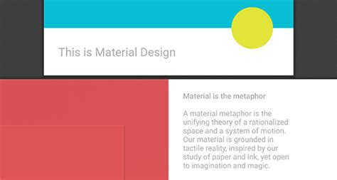 material design google html material design is the new visual language of everything