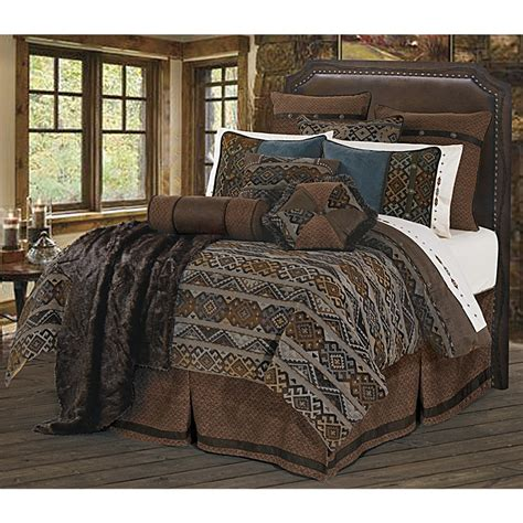 navajo comforter sets southwestern navajo pattern western bedding set king