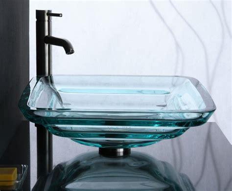clear glass vessel sinks 20 beautiful glass vessel sinks