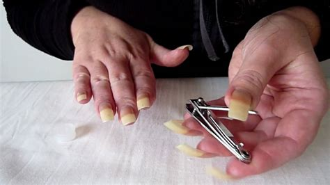 how to cut nails that are tutorial on how to cut file shape nails
