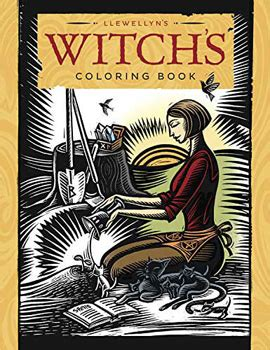 llewellyn color of the day llewellyn s witch s coloring book paperback