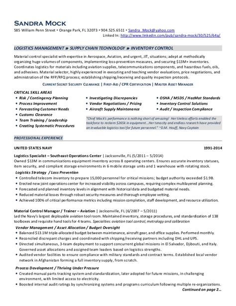Logistics Manager Resume by Mock Logistics Manager Resume 2014
