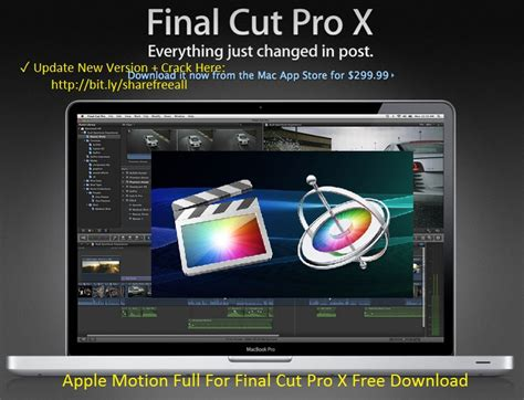 final cut pro download free mac apple motion 5 2 3 serial number for final cut pro x mac