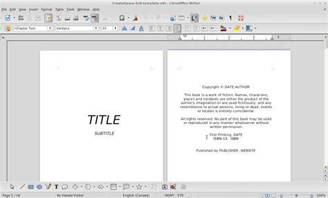 createspace formatted template createspace formatted template createspace template