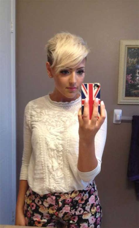 womans extremely short sides 40 best long pixie hairstyles short hairstyles