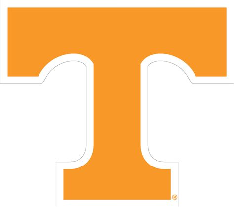 set of 4 tennessee vols power t coasters by ut tennessee volunteers large power t cornhole decals