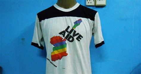Baju Adidas Classic T Shirt Adidas Classic Kaos Adidas Classic kedai baju guniiiii vintage live aid 1985 kain sambung 50 50 sold