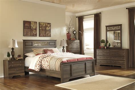 Bedroom Furniture by Allymore Panel Bedroom Set From B216 55 51 98