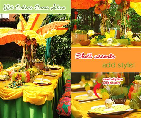 party themes caribbean bring the caribbean home for a jamaican inspired